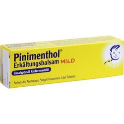 PINIMENTHOL Erkaeltungsbalsam mild
