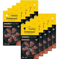 Intenso Energy Ultra Hörgeräte Batterie PR41 braun- Typ 312, 10x 6er Blister, Braun (Typ 312), 10x 6er Pack, 7504436MP