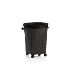 Kela Wäschebox Porto in schwarz, 55 cm