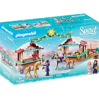 Playmobil Spirit Riding Free Weihnachten in Miradero 70395