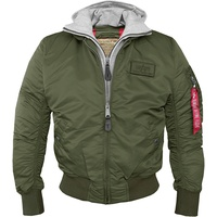 Alpha Industries MA-1 D-Tec grün XXL