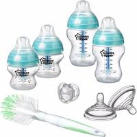 TOMMEE TIPPEE Fläschchen Starterset, Advanced Anti-Kolik, transparent