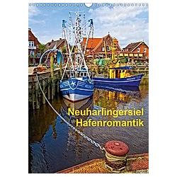 Neuharlingersiel Hafenromantik / Planer (Wandkalender 2021 DIN A3 hoch)