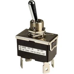 SCI R13-29F Kippschalter 250 V/AC 10A 2 x Aus/Ein rastend 1St.