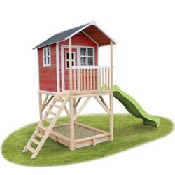 EXIT Loft 700 Holzspielhaus Rot