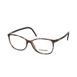 Neubau Eyewear TINA T084/75 9100, inkl. Gläser, Cat Eye Brille, Damen