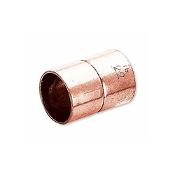 Kupfer-Löt-Muffe - 35 mm - mit DVGW-Zulassung