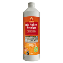 TerraNawaro® Bio-Außen-Reiniger von HOTREGA, Reinigt Gehwege, Gartenwege und Pflaster, 1000 ml - Flasche (Konzentrat)
