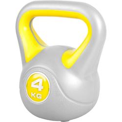 GORILLA SPORTS Kettlebell Kettlebell Stylish Kunststoff 4 kg, 4 kg