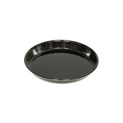Riess Pizzablech Pizzablech rund Profibäcker, Emaille schwarz Rund - Ø 28 cm x 28 cm x 3.1 cm x 28 cm
