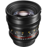 Walimex 50mm F1,5 VDSLR Canon EF