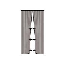 Nematek Insektenschutz-Vorhang Nematek® Insektenschutz Fliegengitter Magnetvorhang für Türen bis 100 x 220 cm, individuell kürzbar, anthrazit