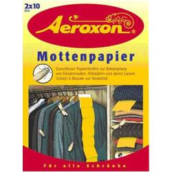 AEROXON Mottenpapier 2X10 St