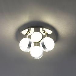 LED Deckenleuchte Tobias 3-flg. Klar