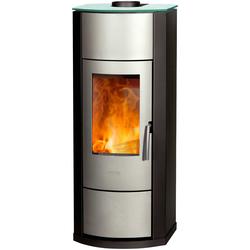 Kaminofen »Nero«, Stahl/Glas, 2,9 kW, Vermiculite, 73685150-0 grau grau