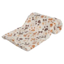 Trixie Decke Lingo weiß/beige für Hunde, Maße: 75 x 50 cm