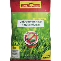 Wolf Garten 3840745 Unkrautvernichter + Rasendünger SQ 450