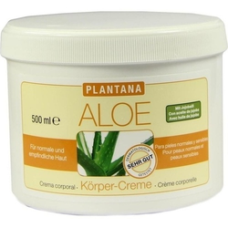 PLANTANA Aloe Vera Körper Creme 500 ml