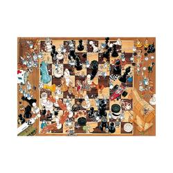 HEYE Puzzle Puzzle Black or White, 1000 Teile, Puzzleteile