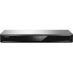 Panasonic DMR-UBS70 Blu-ray-Rekorder (4k Ultra HD, WLAN, LAN (Ethernet), 4K Upscaling, 500 GB Festplatte, für DVB-S, Satellitenempfang) silberfarben