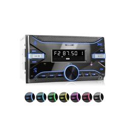 XOMAX Audio-System (XOMAX XM-2R423 Autoradio mit Bluetooth, USB und AUX-IN)