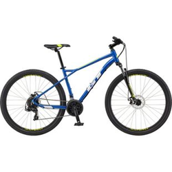 GT Aggressor Sport 27,5 Zoll Mountainbike Hardtail MTB Fahrrad 650B Mountain Bike... blau, 38 cm