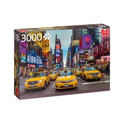Jumbo Spiele Puzzle 18832 Taxis in New York 3000 Teile Puzzle, 3000 Puzzleteile
