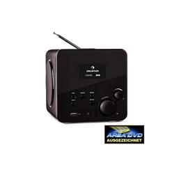 Auna Radio Gaga Internetradio WLAN/LAN DAB/DAB+ UKW USB AUX schwarz Radio (WLAN)