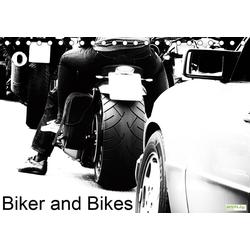 Biker and Bikes (Tischkalender 2021 DIN A5 quer)