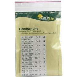 HANDSCHUHE Baumwolle Gr.12 2 St