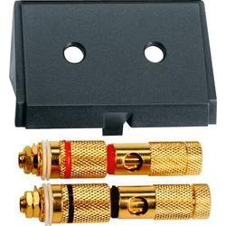 Merten Lautsprecher-Steckdose System M Schwarz 464387