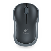 Logitech M185 Wireless Mouse schwarz/grau (910-002238)