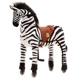 ANiMAL RIDinG Reittier Zebra Marthi, XL, mit Rollen