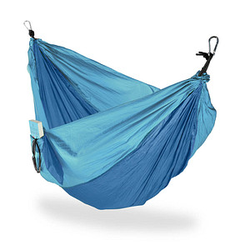 relaxdays Hängematte blau