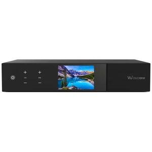 VU+ Duo 4K SE PVR ready Linux Receiver UHD 2160p 1x DVB-S2X FBC Twin & 1x DVB-T2 Dual 500GB