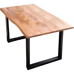 SIT Esstisch beige Holz-Esstische Holztische Tische Tisch