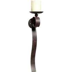 Ambiente Haus Kerzenhalter, Höhe 48 cm, Kerzen-Wandleuchter, Kerzenhalter, Kerzenleuchter hängend, Wanddeko