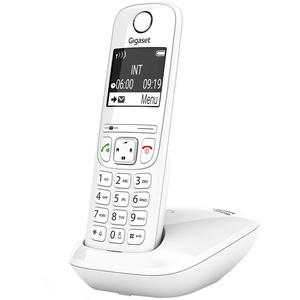 Gigaset AS690, Schnurloses Telefon - großes, kontrastreiches Display - brillante Audioqualität - einstellbare Klangprofile, Freisprechfunktion - Anrufschutz, weiß