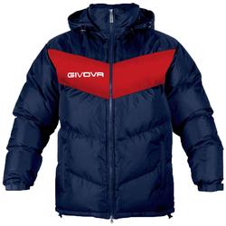 Givova Winterjacke Giubbotto Podio navy/rot - 3XL