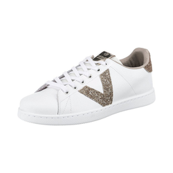 Victoria Tenis Piel/virutas Glitter Sneakers Low Sneaker 36