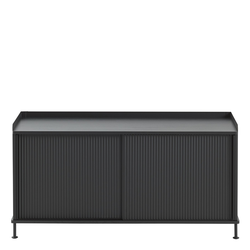 Enfold Sideboard Schwarz/Schwarz 124.5 x 62 cm  Muuto