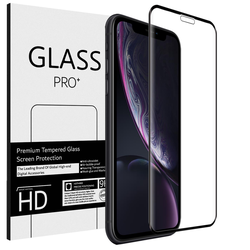 Full Screen Panzerglas für Apple iPhone 11 Pro Max / XS Max Schutzfolie Glas Vollbild Panzerfolie