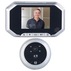 Digitale Türspion-Kamera mit 8,9-cm-Display, PIR, Aufnahme, Nachtsicht