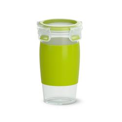 EMSA CLIP & GO Smoothiebecher, Praktischer Behälter für Smoothies, Maße (B x L x T): 15,2 x 9,1 cm