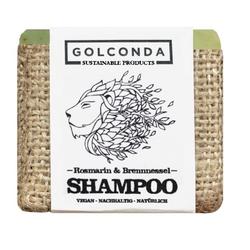 Golconda Haarseifen Shampoo - Rosmarin & Brennnessel 65g