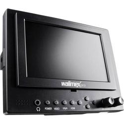 Walimex Pro Cineast I Videomonitor für DSLRs 12.7cm 5 Zoll HDMI®, AV, YPbPr