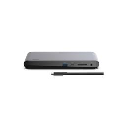 Belkin Laptop-Dockingstation Thunderbolt 3 Dock Pro incl. Thunderbolt 3 Kabel, (1 St), Ladestation