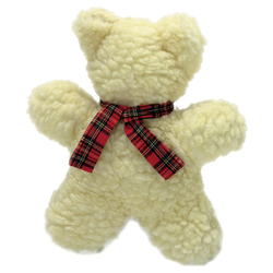 Karlie Hundespielzeug Lammfell-Spielzeug Bär, Maße: 18 cm