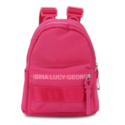 George Gina & Lucy Rucksack Nylon Roots Solid rosa
