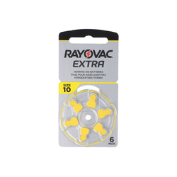 RAYOVAC Rayovac Hörgerätebatterie H10MF Nr. 10 PR70 Extra Batterie